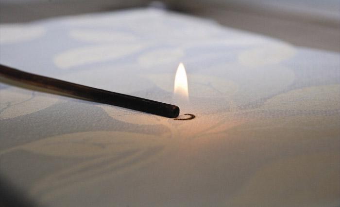 Покрытие матраса: противопожарная ткань